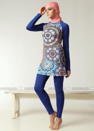 latest trends of swimwear for Muslim women (26)
