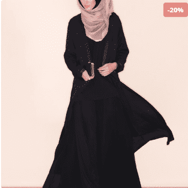 Screenshot-1055 Summer Abaya Collection-15 Abaya Designs to Stay Cool in Summers