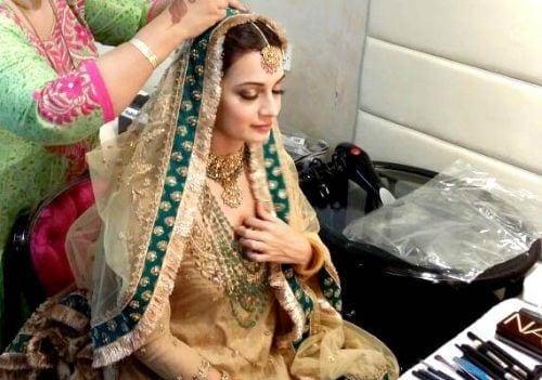 diya in her wedding