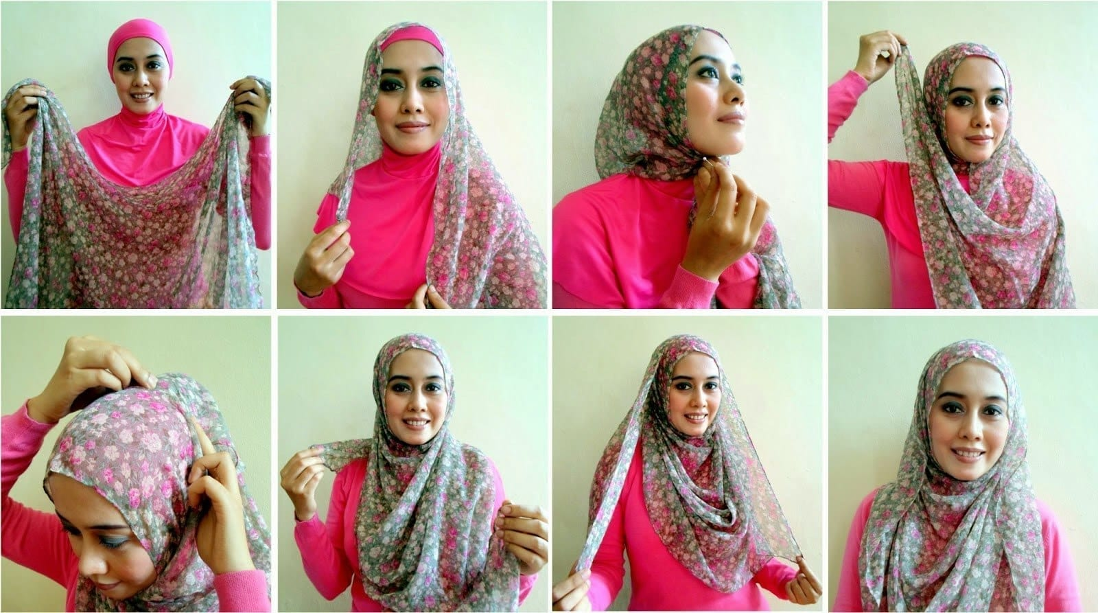 exotic-way Pashmina Hijab Styles-18 Ways to Wear Hijab With Pashmina