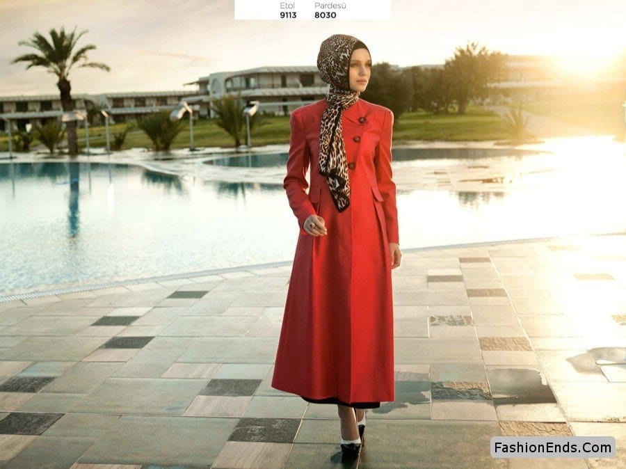 girlsabaya-style 15 New Abaya Styles for Teenage Girls For Modest Look