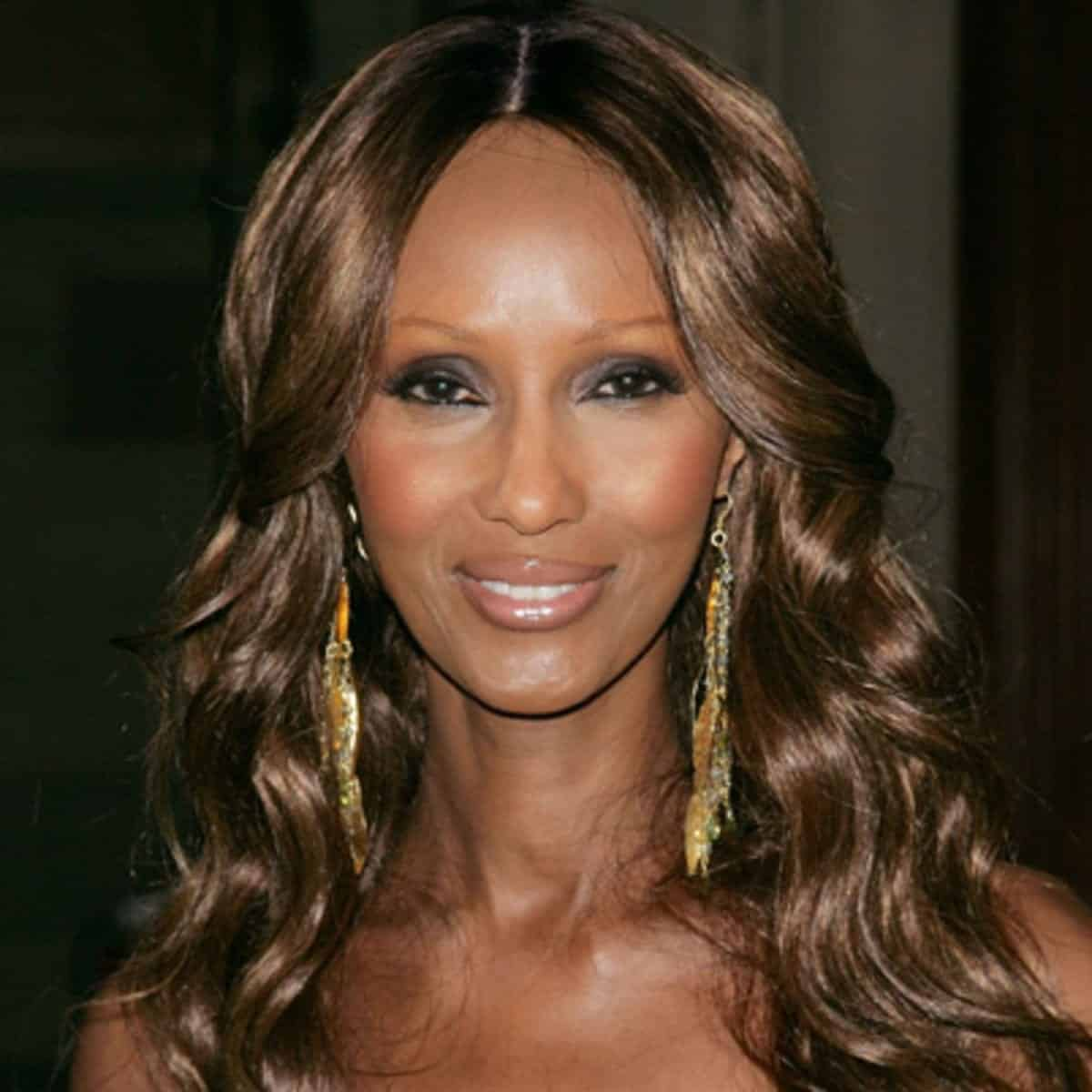 iman-model Famous Black Muslims-30 Most Influential Muslims in History