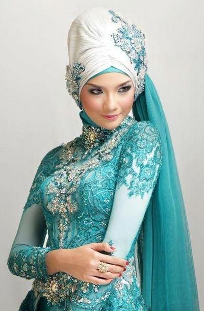 islamic-wedding-hijab-style-9 Indonesian Hijab Styles-15 New Hijab Trends In Indonesia