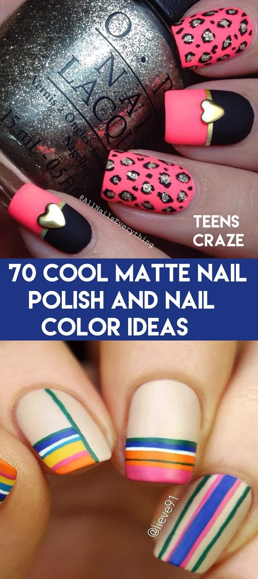 matte-nail-polish-ideas