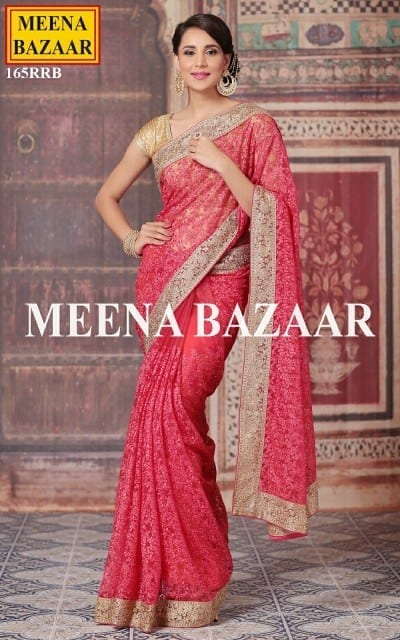 modern-south-indian-designer-sari 23 Latest Indian Wedding Saree Styles to Try this Year