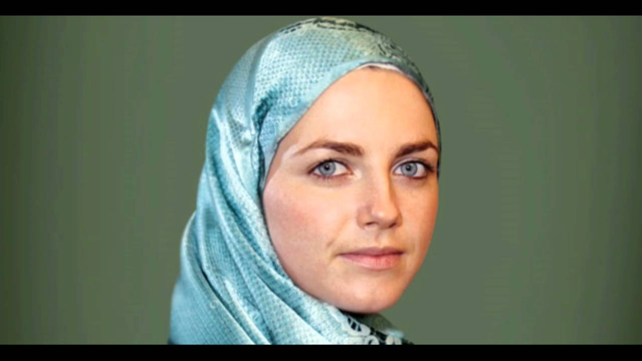 myriam White Muslim Women- 20 White Islamic Women with Colored Eyes