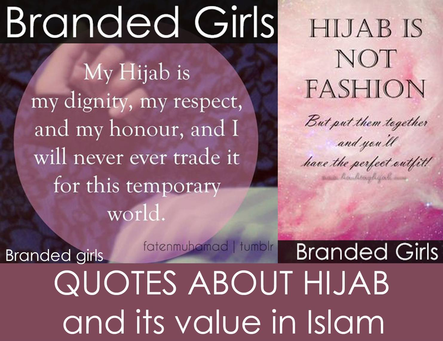 polyvore-sample Hijab Quotations - 50 Best Quotes About Hijab In Islam