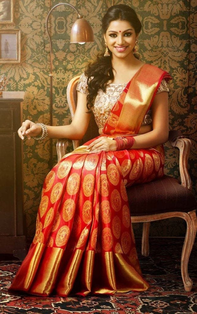 south-indian-craze-for-weddings-643x1024 23 Latest Indian Wedding Saree Styles to Try this Year