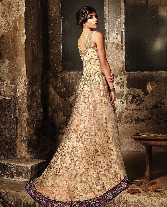 Best designs in Indian Bridal Gowns this year (24)