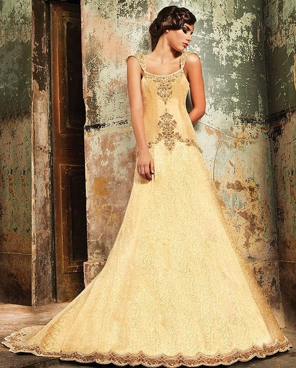 Best designs in Indian Bridal Gowns this year (22)