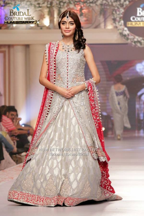 1-Telenor-Bridal-Couture-Week-2015-Day-2-103 Bridal Sharara Designs-20 News Designs and Styles to Try