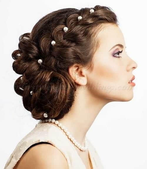 2014-braided-wedding-hairstyle-flare-su_b Latest Bridal Gowns - 20 Most Perfect Bridal Gowns this Year