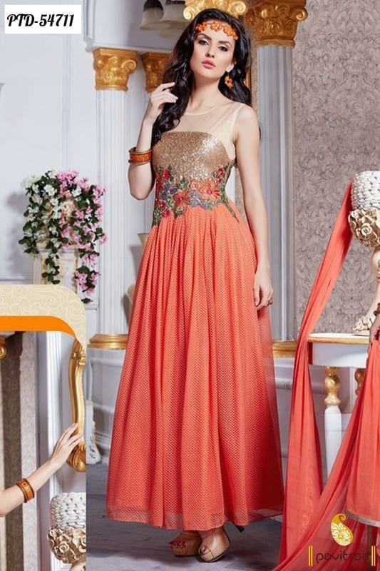 Best designs in Indian Bridal Gowns this year (16)