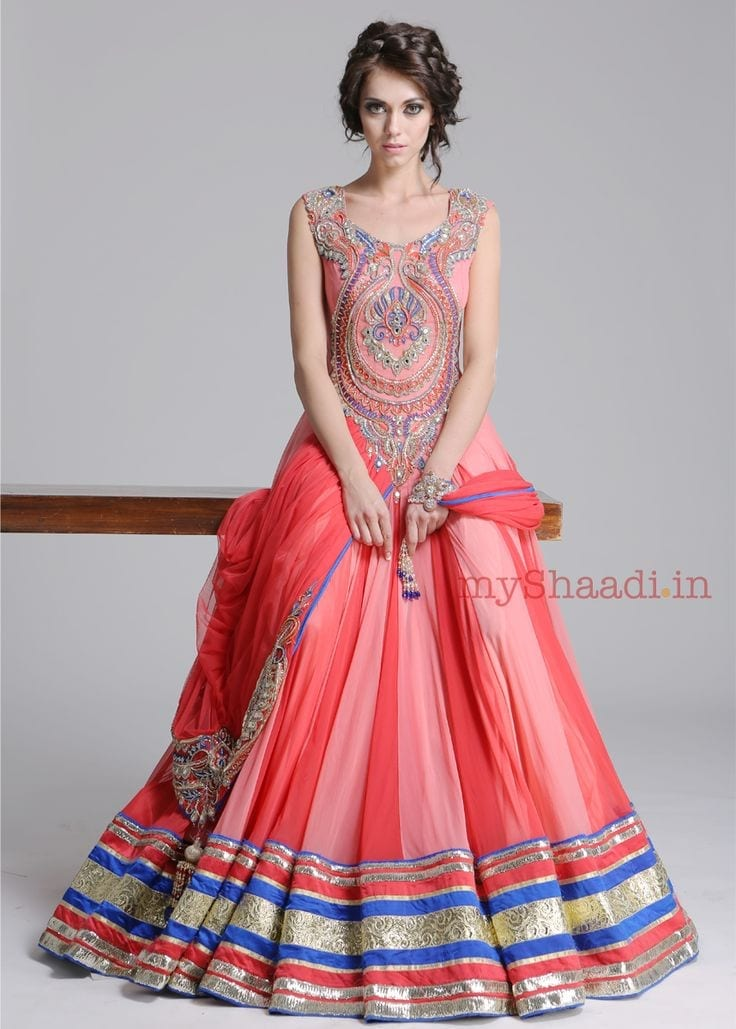 best designs for bridal indian gowns (3)