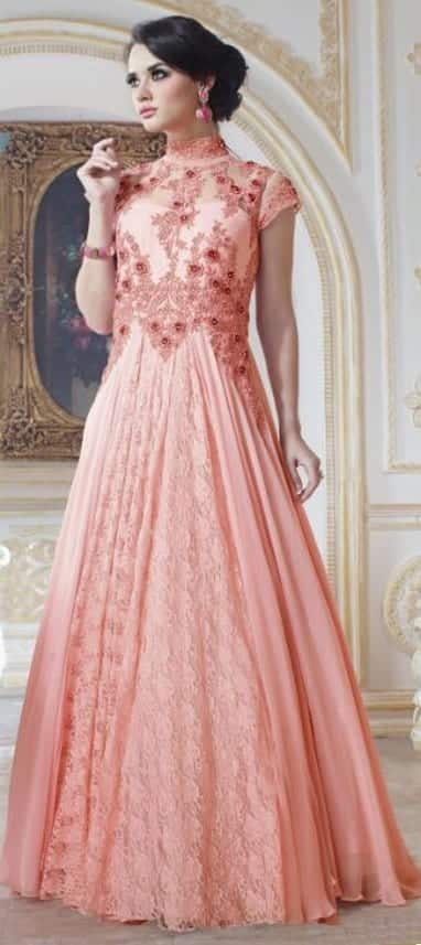 Best designs in Indian Bridal Gowns this year (19)