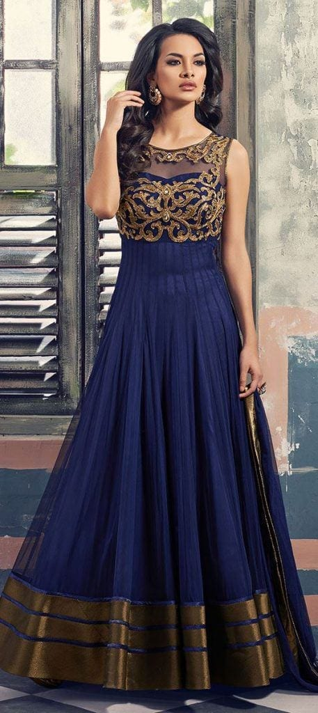447587-457x1024 30 Latest Indian Bridal Gown Styles and Designs to Try this Year