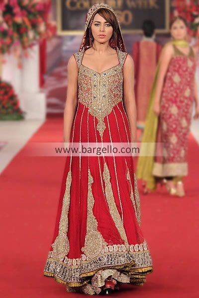 4579-l-Pakistani-Bridal-Outfits-by-Mehdi-at-PCBW-London-UK Bridal Sharara Designs-20 News Designs and Styles to Try