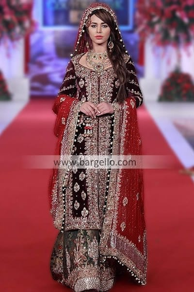 4602-l-Amazing-Black-Bridal-Outfit-at-Bridal-Couture-Week Bridal Sharara Designs-20 News Designs and Styles to Try