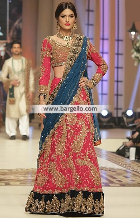 5161-l-aisha-imran-tbcw-2014 Bridal Dupatta Settings–17 New Ways to Drape Dupatta for A Wedding