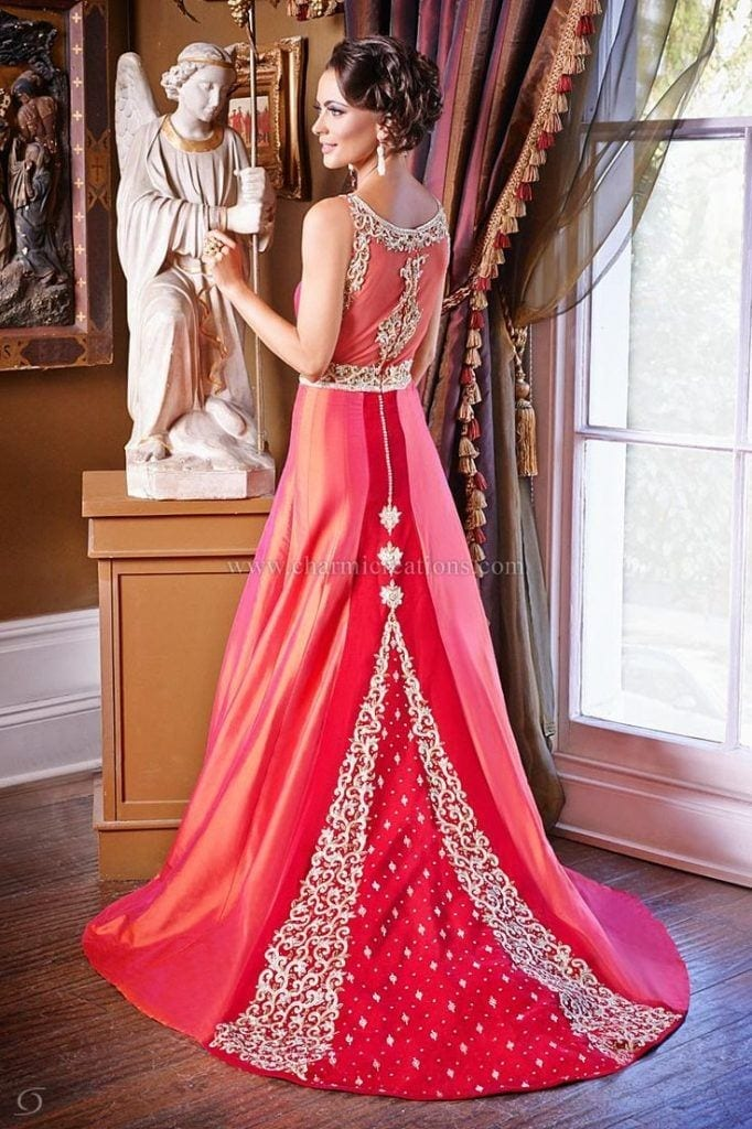 Best designs in Indian Bridal Gowns this year (21)