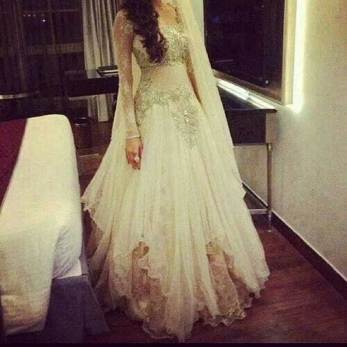 Best designs in Indian Bridal Gowns this year (20)
