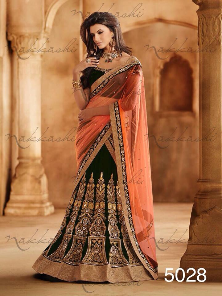 Indian-Designer-House-Latest-Nakaashi-Bridal-Wear-Sarees-2014-15-2 20 Best Sarees for the Mothers of The Bride this Year 2016