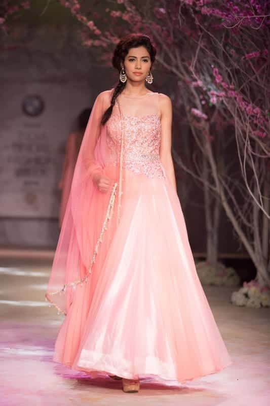 Best designs in Indian Bridal Gowns this year (8)
