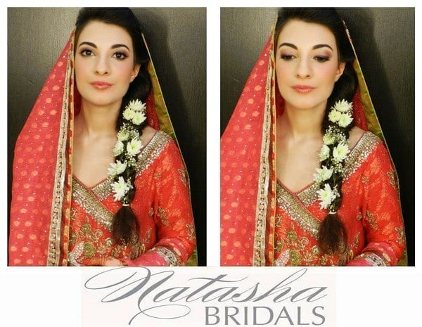 Pakistani-Bridal-Makeup-Looks-2013-By-Natasha-Bridal-Salon-007 Dholki Outfits-20 Ideas What to Wear on Dholki/Sangeet Night