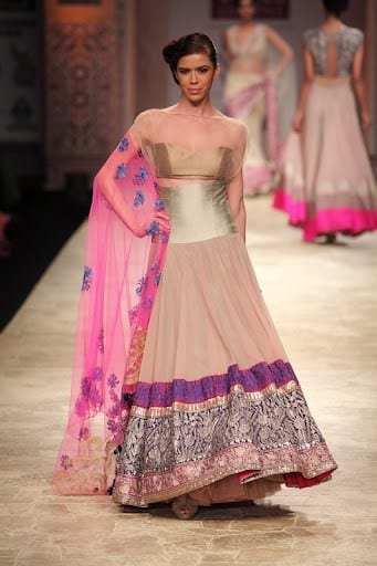 Best designs in Indian Bridal Gowns this year (1)