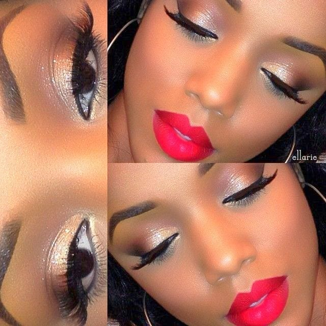 afro-makeup 50 Cutest Pictures of African Girls of All Ages