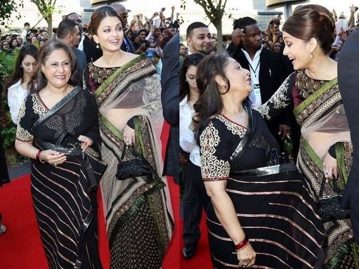 aish 20 Best Sarees for the Mothers of The Bride this Year 2016