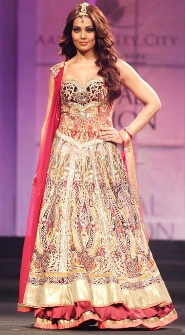 Best designs in Indian Bridal Gowns this year (12)