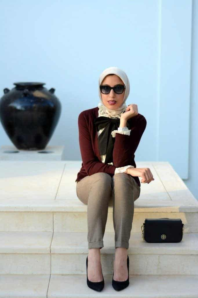 bow-tie-683x1024 Top 20 Hijab Style Trends for Muslim Women These Days