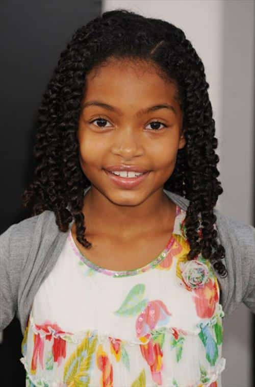 cute-braided-hairstyle-for-little-black-girl-with-long-hair 50 Cutest Pictures of African Girls of All Ages