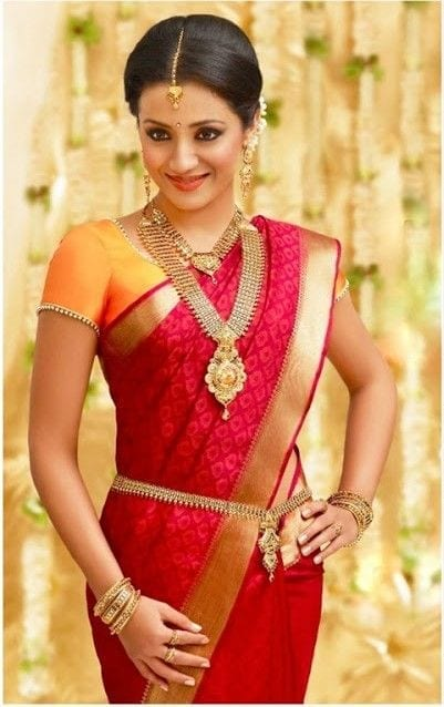 for-a-simple-wedding-style-1 23 Latest South Indian Wedding Sarees To Try This Year