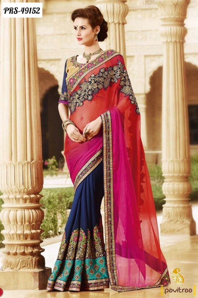 for-tall-ones-683x1024 Latest Bridesmaid Saree Designs-20 New Styles to try in 2016