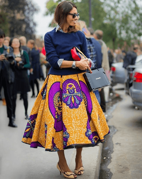 different styles to wear ankara (5)