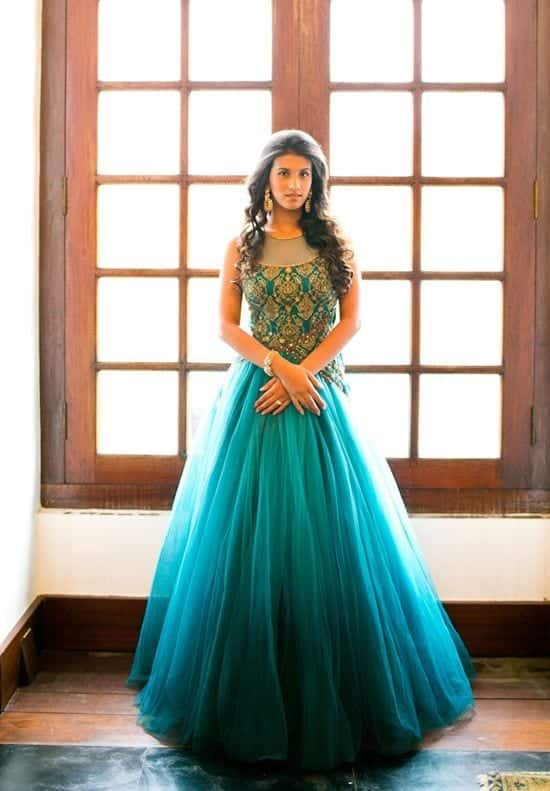 Best designs in Indian Bridal Gowns this year (9)