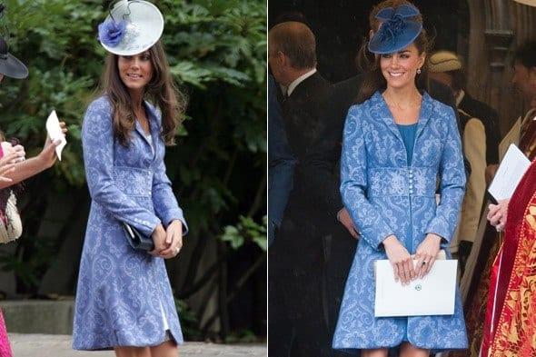 kate-duchess-cambridge-rex-590mt130611 20 Times Kate Middleton Recycled Her Wardrobe