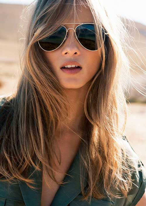 medium-hairdo-for-slim-girls Skinny Girl Hair Looks - 25 Best Hairstyles for Skinny Girls