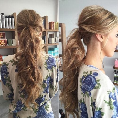 messy-ponytail-2016 Skinny Girl Hair Looks - 25 Best Hairstyles for Skinny Girls