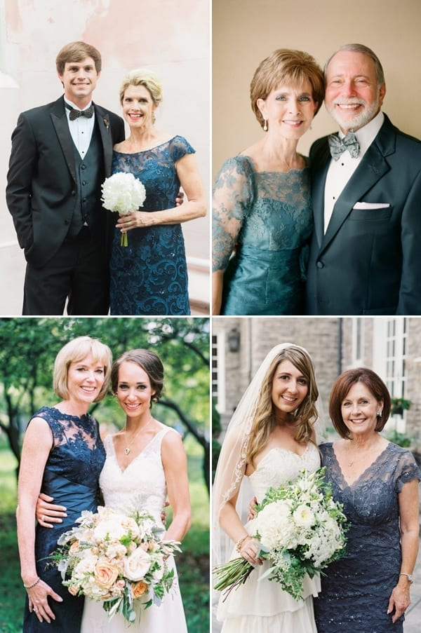 mother of bride blue color outfits