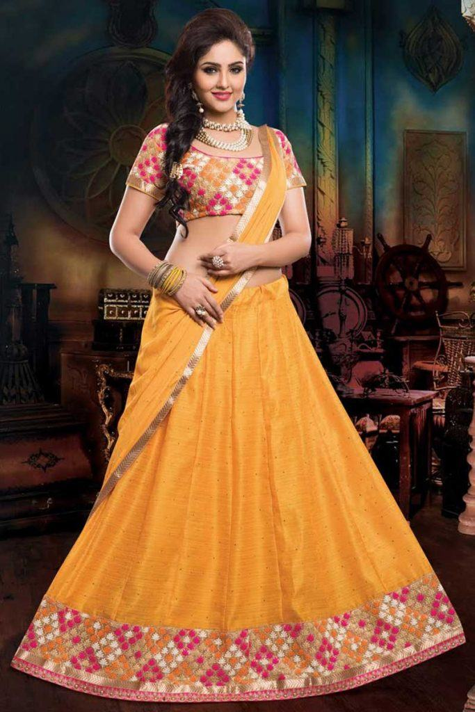 mustard-683x1024 Dholki Outfits-20 Ideas What to Wear on Dholki/Sangeet Night