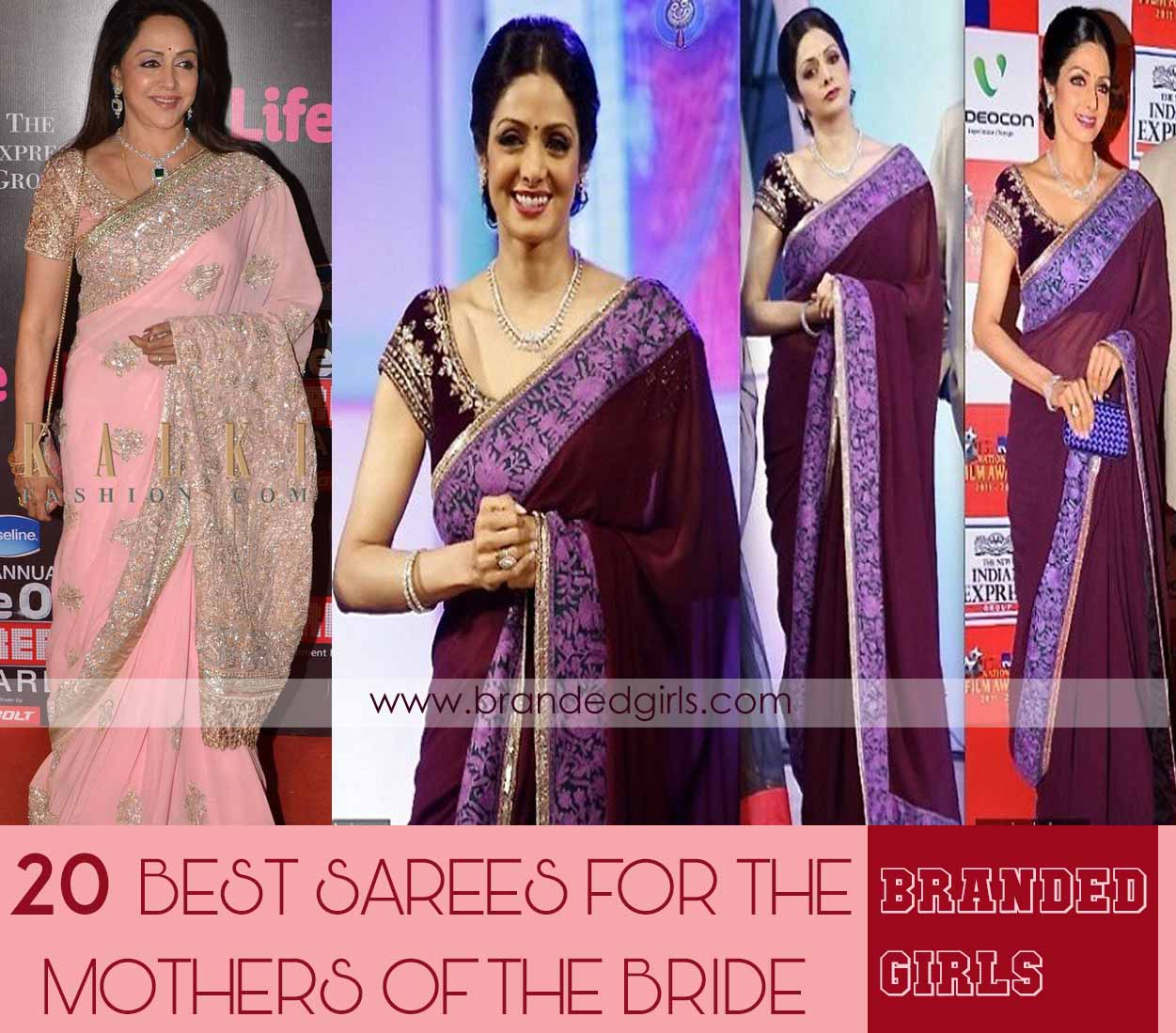 polyvore-sample-14 20 Best Sarees for the Mothers of The Bride this Year 2016