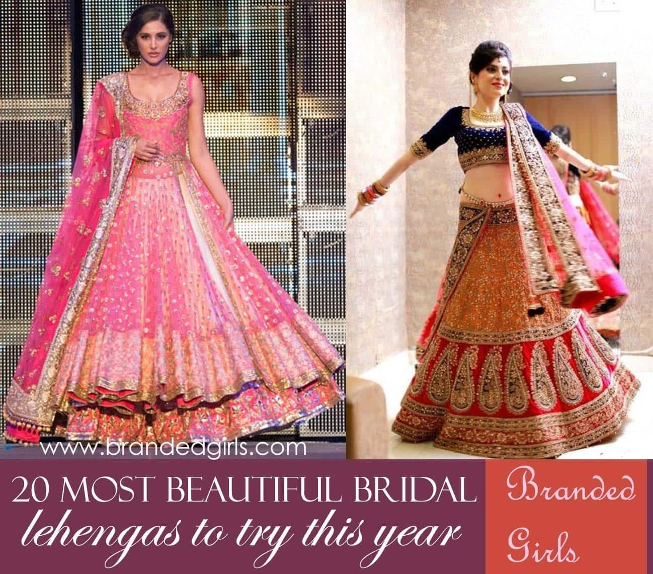 polyvore-sample-2 20 Latest Bridal Lehenga Designs and Ideas to try this year