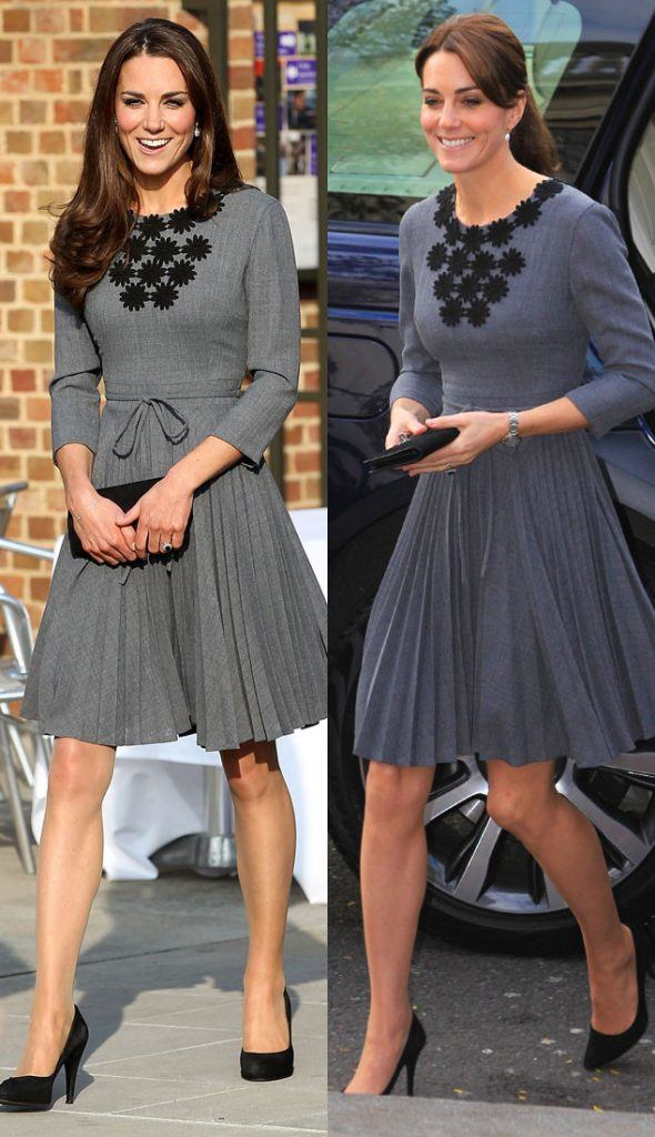 similar-dresses-590x1024 20 Times Kate Middleton Recycled Her Wardrobe
