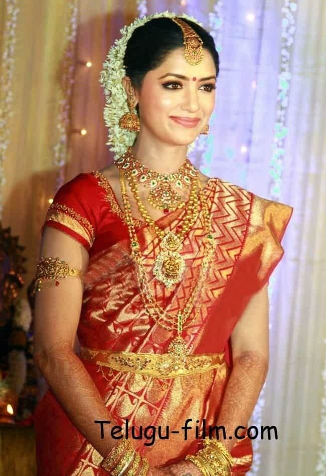 south-indian-fancy-style-1 23 Latest South Indian Wedding Sarees To Try This Year