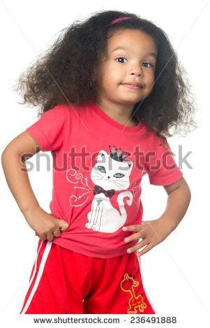 stock-photo-cute-and-funny-small-african-american-girl-wearing-colorful-clothes-isolated-on-white-236491888 50 Cutest Pictures of African Girls of All Ages