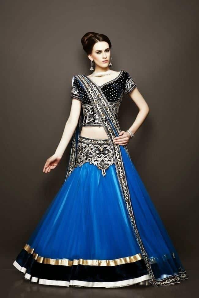 stylish-Bridesmaid-Lehengas Latest Bridesmaid Lehenga Designs-22 New Styles to Try in 2016