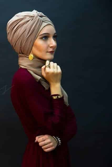 turban-hijab Top 20 Hijab Style Trends for Muslim Women These Days